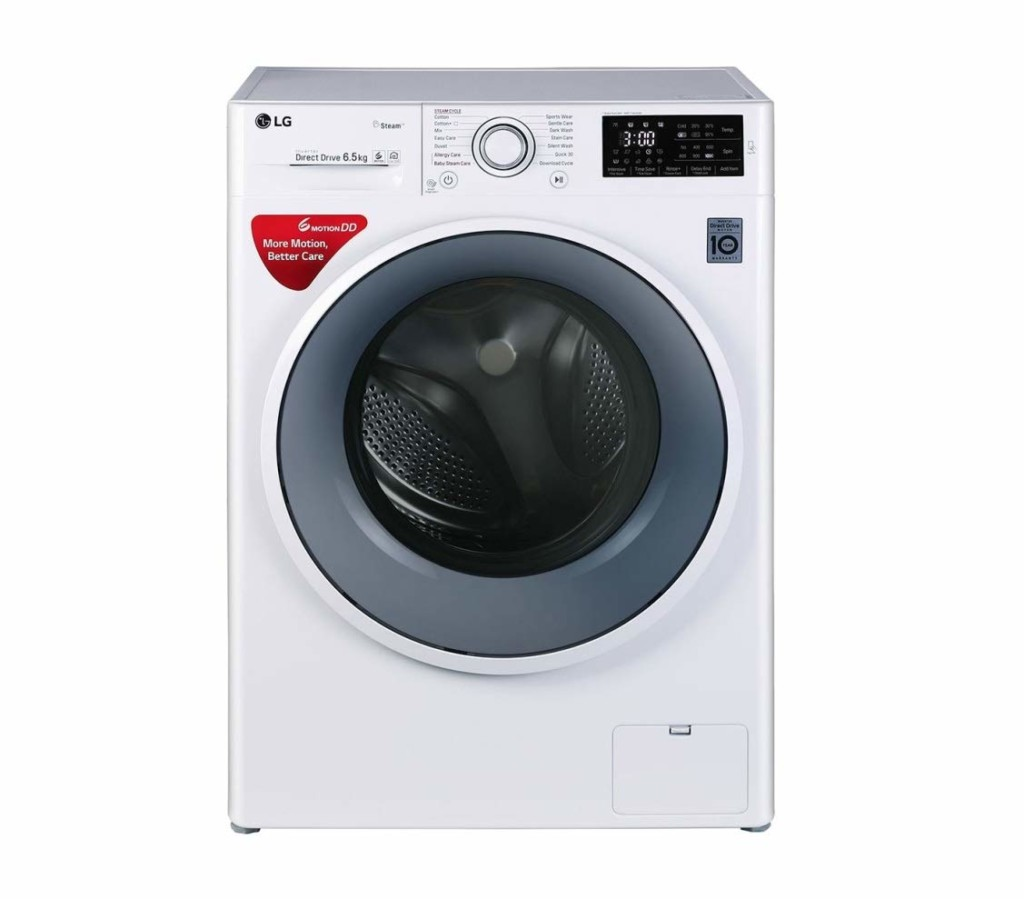 LG 6.5 kg FHT1065SNW Fully-Automatic Front Loading Washing Machine