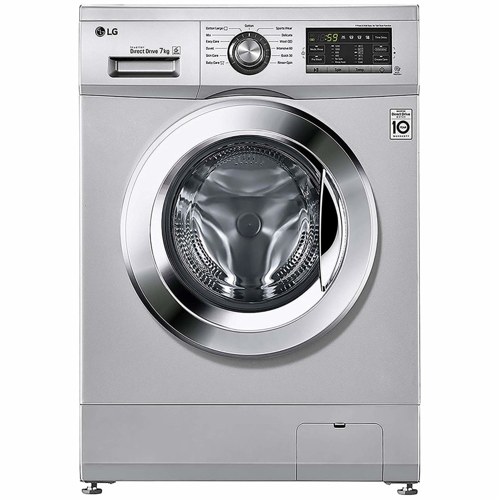 LG 7 kg FH2G6HDNL42 Fully-Automatic Front Loading Washing Machine