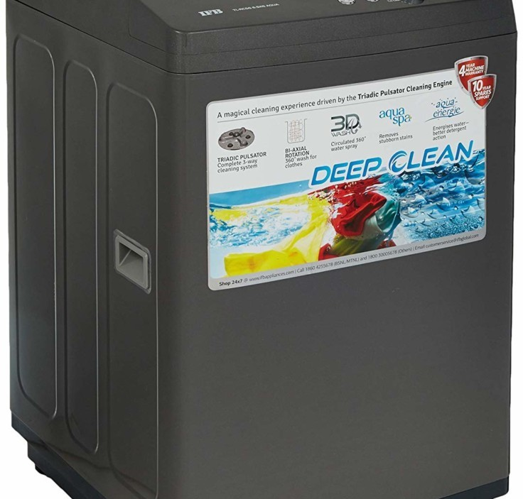 Find here the Full Specifications and Price of the IFB 6.5 kg TL-RCG/RCSG Aqua Fully-Automatic Top Loading Washing Machine in India