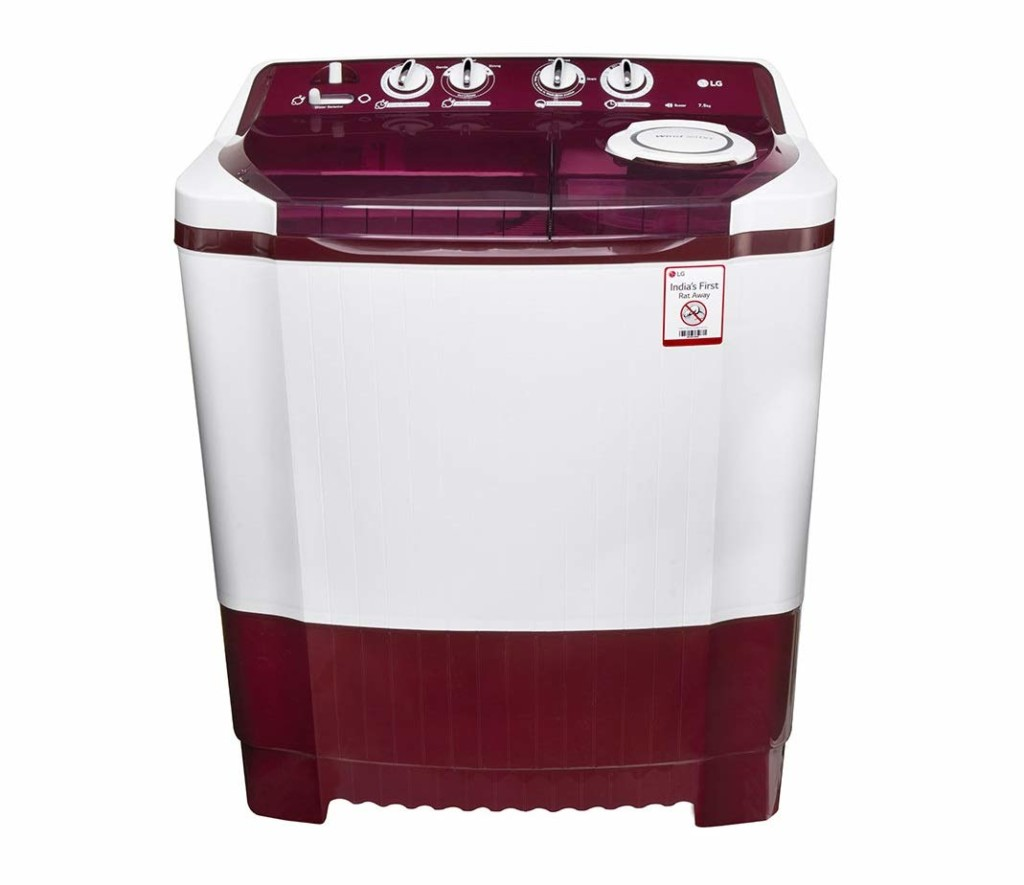 LG 7.5 kg P8541R3SA Semi-Automatic Top Loading Washing Machine