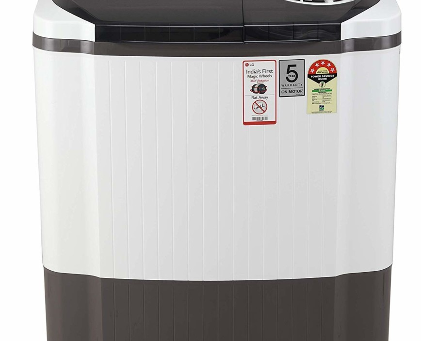 Find here the Full Specifications and Price LG 8 Kg P8035SGMZ Semi-Automatic Top Loading Washing Machine in India