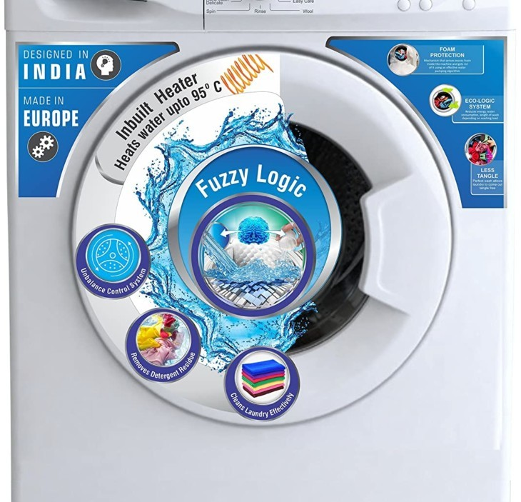 Onida 5.5 kg WOF5508NW Fully-Automatic Front Loading Washing Machine Full Specifications and Price in India